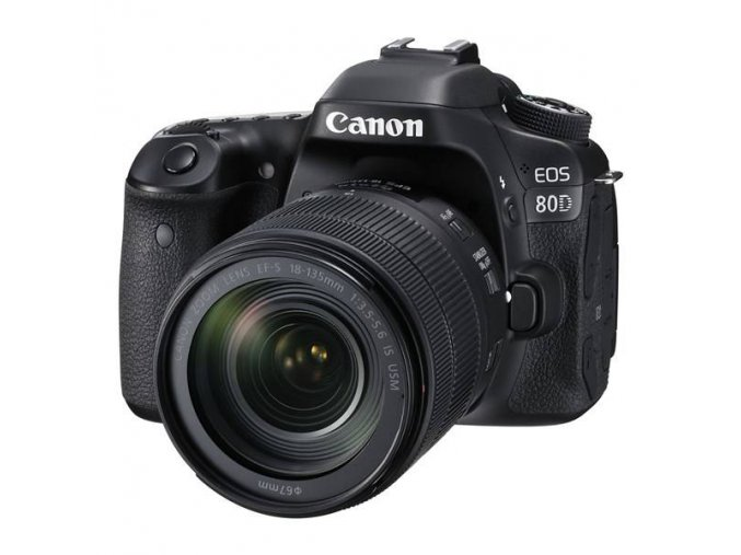 Canon EOS 80D + 18-135 IS USM