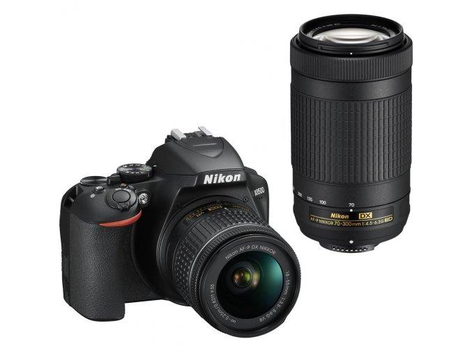Nikon D3500 + 2 objektívy AF-P 18-55mm VR + AF-P 70-300mm VR