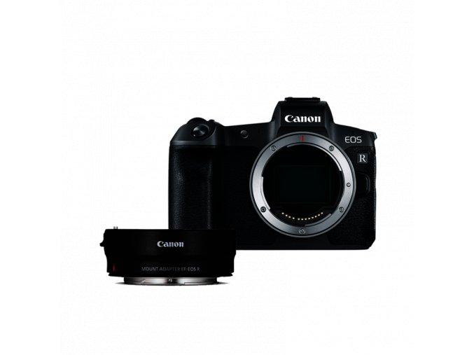 Canon EOS R telo + EF-EOS R adaptér