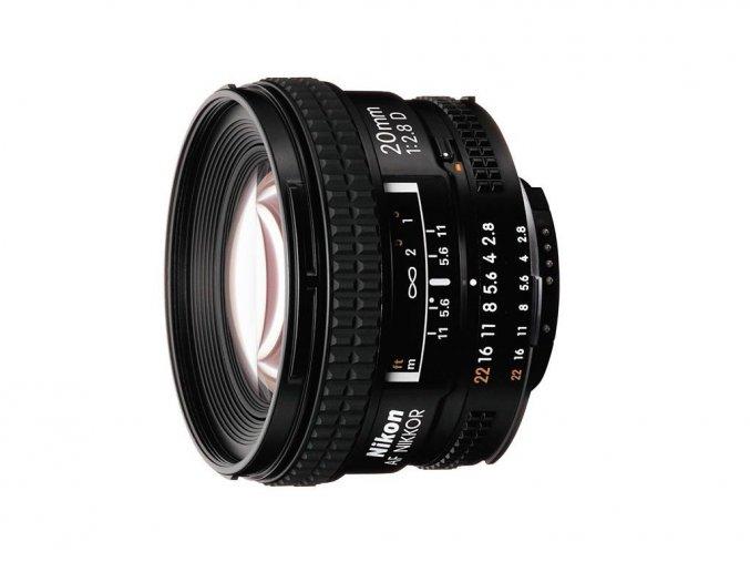 Nikon 20mm f/2.8 D A