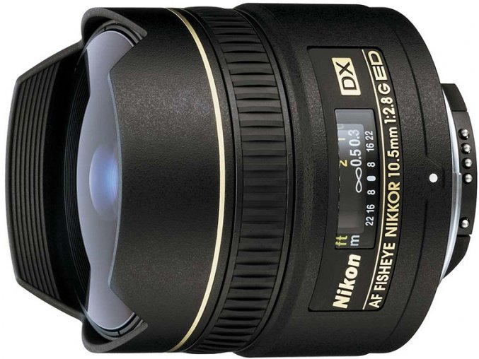 Nikon 10,5mm f/2,8G DX ED IF
