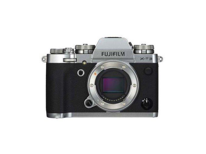 Fujifilm X-T3 strieborný