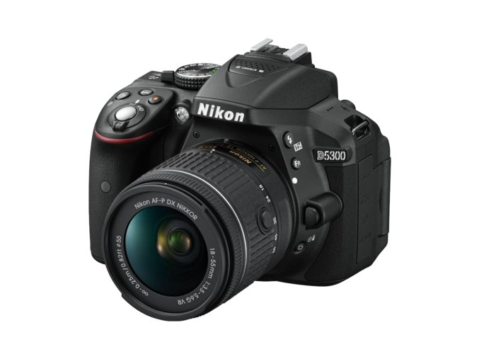 Nikon D5300 + 18-55mm AF-P DX VR