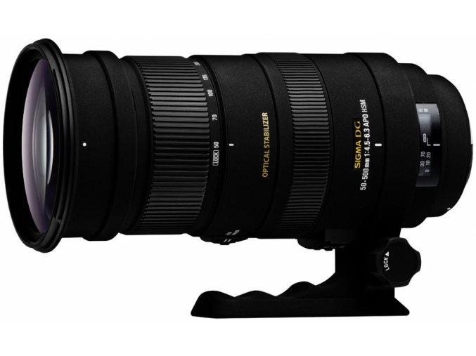 Sigma 50-500mm f/4,5-6,3 OS DG APO HSM Canon