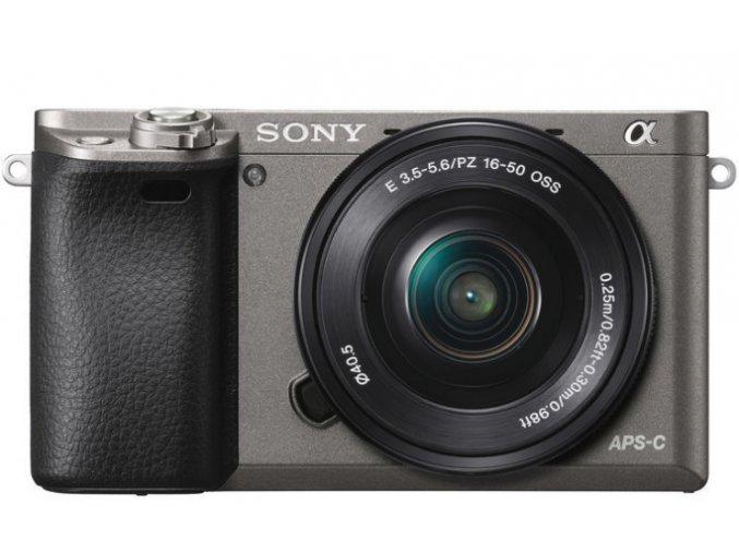 Sony Alpha A6000 grafitový - telo