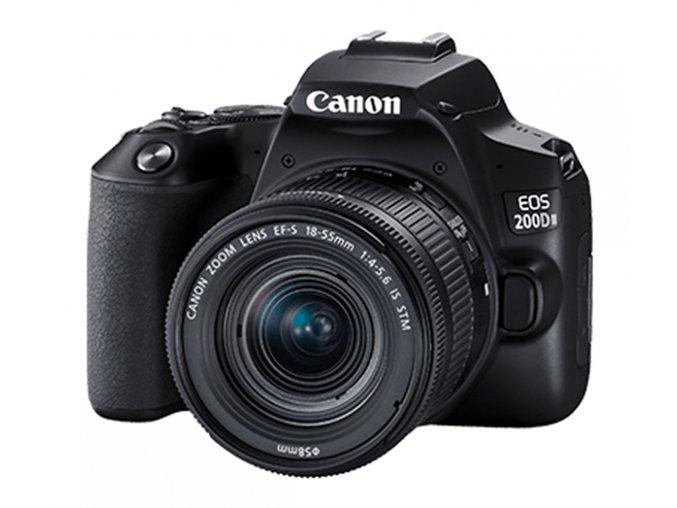 Canon EOS 200D Mark II (4K video) + 18-55mm IS STM