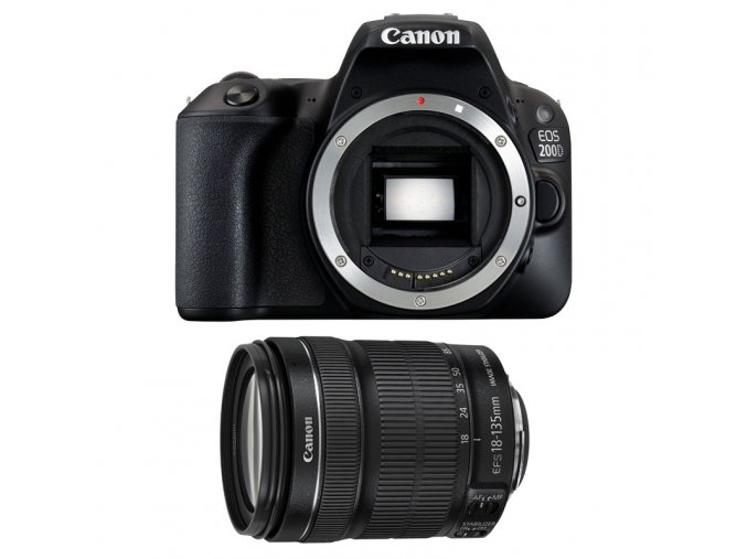 Canon EOS 200D Mark II (4K video) + 18-135mm IS STM