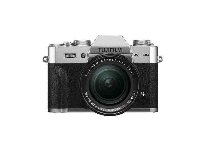 Fujifilm X-T30 + 18-55mm - strieborný