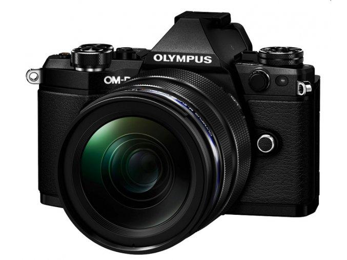 Olympus E-M5 Mark II čierny + M.ZD ED 12-40mm f/2.8 PRO