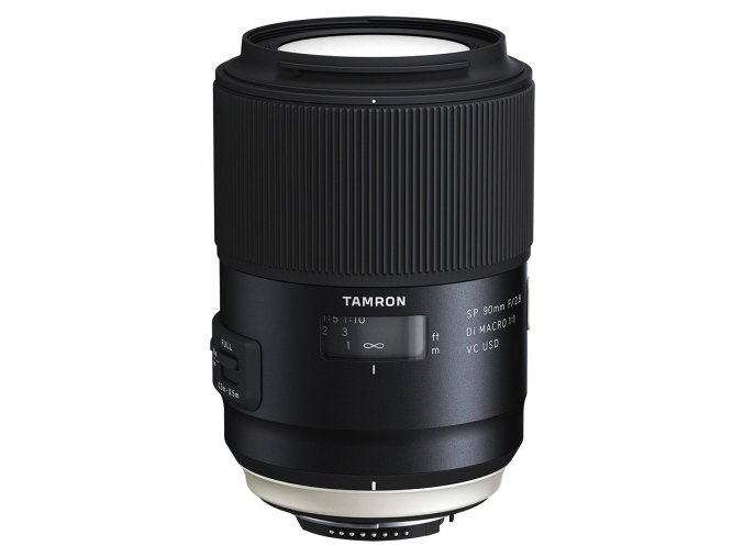 x Tamron SP AF 90mm F28 Di VC USD Mk.II Baj Nikon Black FT