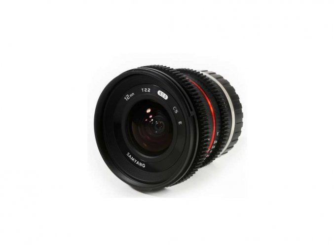 Samyang 12mm T2.2 Cine NCS CS pre Sony E
