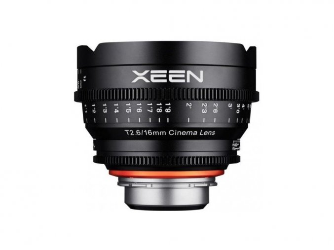 Samyang Xeen 16mm T2.6 pre Canon