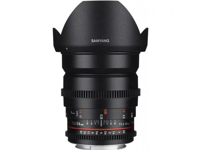 Samyang 24mm T1,5 VDSLR II Nikon