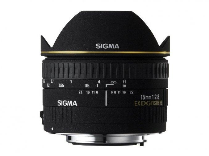 Sigma 15mm f/2,8 DG FishEye Diagonal Nikon