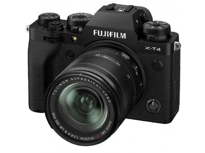 Fujifilm X-T4 + XF 18-55 mm f/2,8-4 OIS čierny
