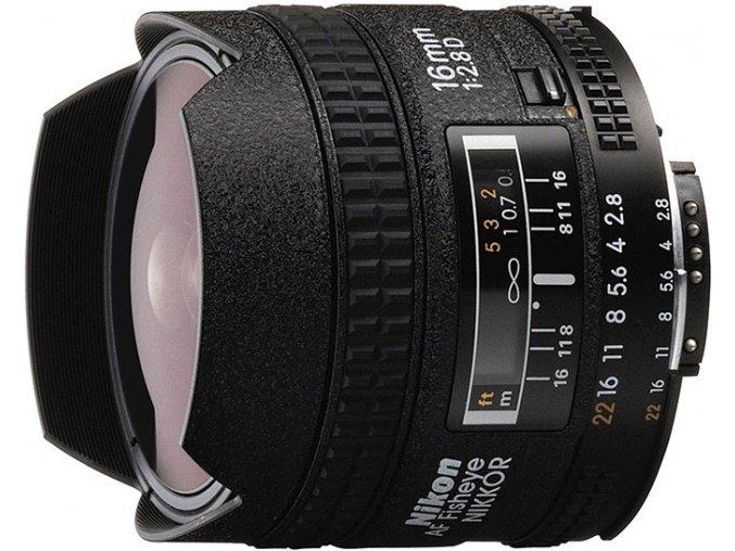 Nikon AF Fisheye 16mm f/2.8D A Nikkor