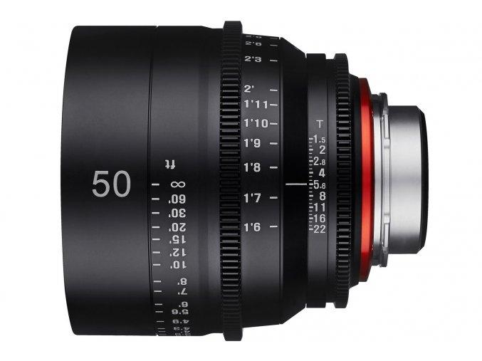 Samyang Xeen 50mm T1.5 pre Canon