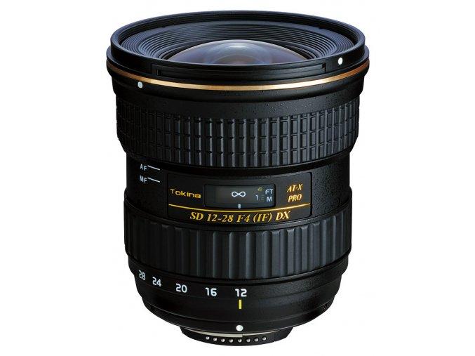 Tokina AT-X PRO AF 12-28mm f/4 DX, baj. Canon