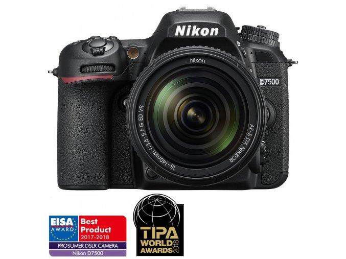 Nikon D7500 + 18-140mm AF-S DX VR