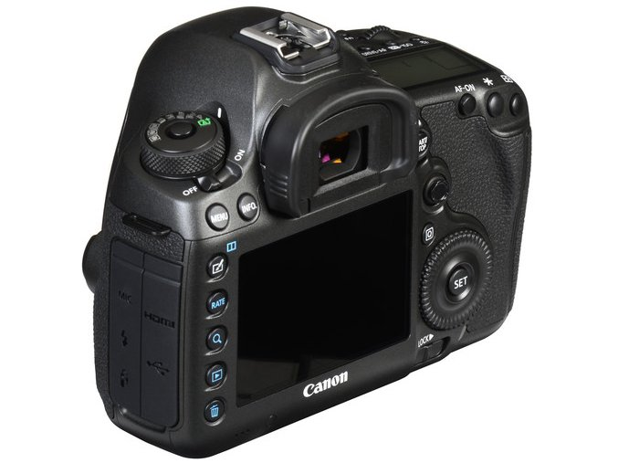 Canon EOS 5DS R telo