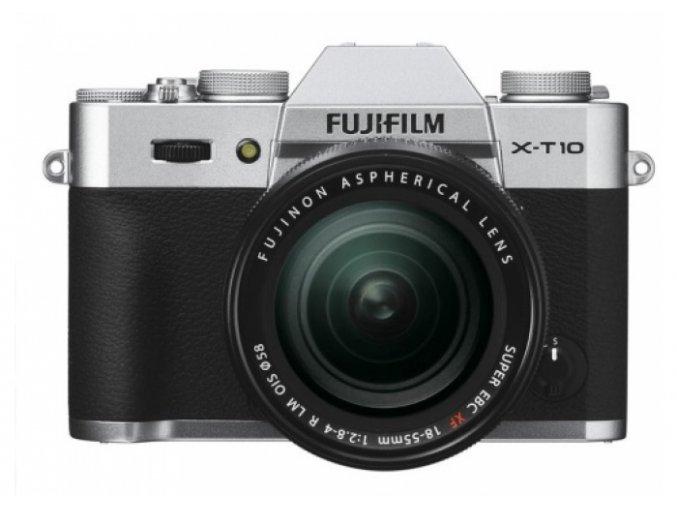 Fujifilm X-T10 + XF18-55 mm silver