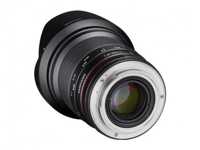 Samyang 20mm f/1.8 ED AS UMC pre Canon