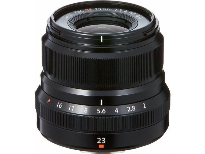 Fujifilm Fujinon XF 23mm F/2.0 R WR čierny