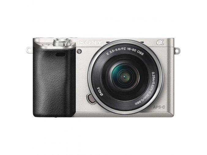 Sony Alpha 6000L + 16-50mm strieborný