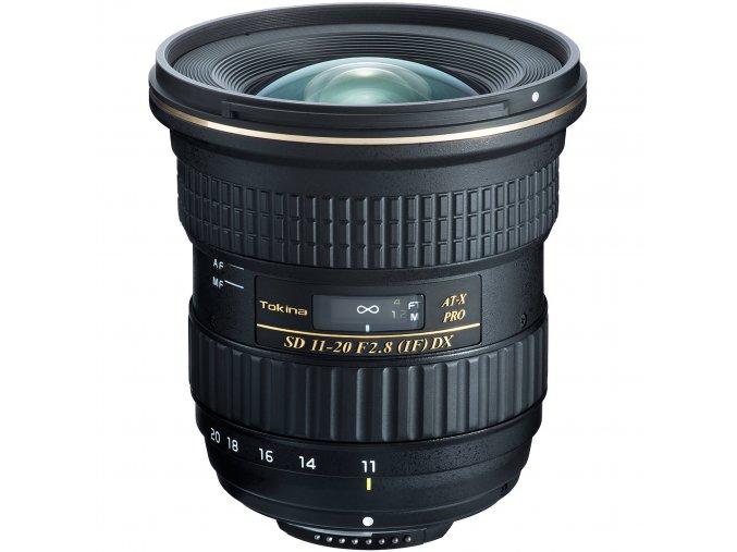 Tokina AT-X 11-20mm f/2.8 PRO DX pre Nikon
