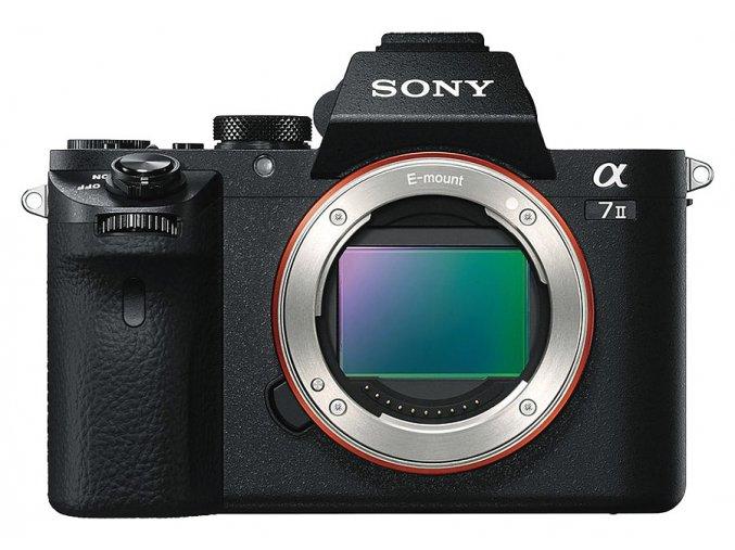 Sony Alpha A7 II telo