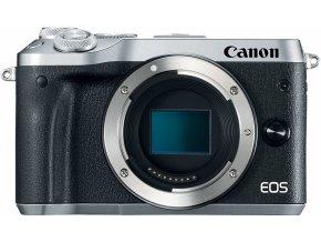 Canon EOS M6 strieborný
