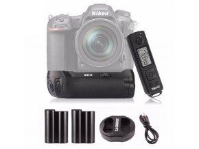 Batériový grip Meike MB-D17 (+ 2x EN-EL15 + nabíjačka + diaľkové ovládanie) pre Nikon D500