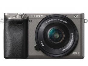 Sony Alpha A6000 grafitový + 16-50mm (SEL1650)