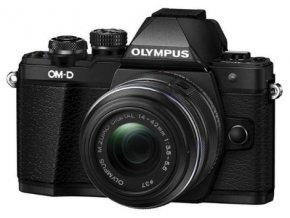 Olympus E-M10 Mark III telo + objektív 14-42 II R čierny