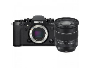 FUJIFILM X T3 Mirrorless Digital Camera with 16 80mm Lens Kit (Black)