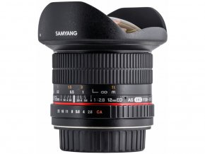 Samyang 12mm f/2,8 ED AS NCS Fisheye Canon