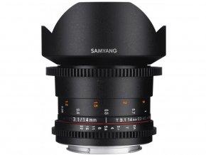 Samyang 14mm T3,1 VDSLR II Nikon