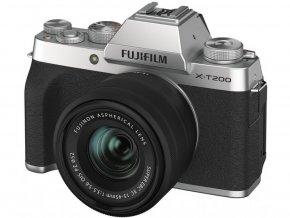 Fujifilm X-T200 + Fujinon XC 15-45mm f/3,5-5,6 strieborný