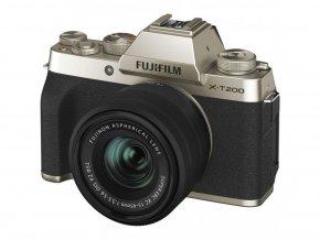 Fujifilm X-T200 + Fujinon XC 15-45mm f/3,5-5,6 zlatý