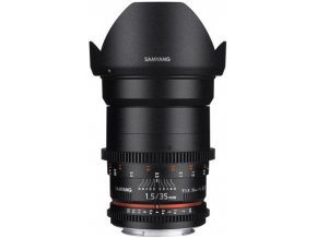 Samyang 35mm T1.5 VDSLR II pre Nikon
