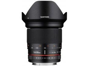 SAMYANG 20 mm f/1,8 ED AS UMC pre Nikon