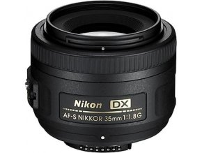 Nikon AF-S 35mm f/1,8G DX