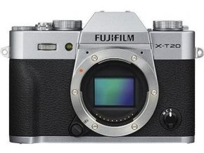 FUJIFILM X-T20 strieborný