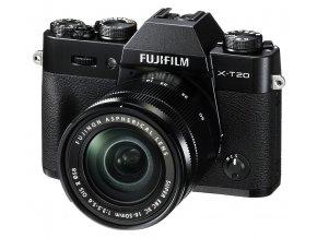 Fujifilm X-T20 + XC 16-50mm f/3.5-5.6 II čierny