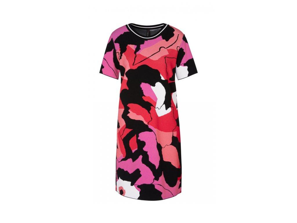 Šaty se žakárovým vzorem