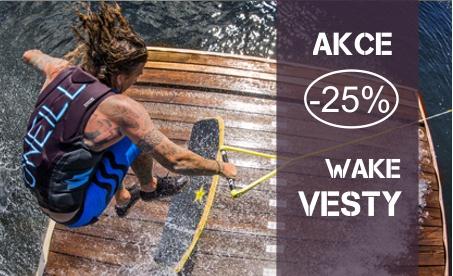 Akce -25% na wake vesty O'neill