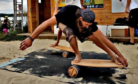Balanční desky Woodboards - české Indo boardy za super kačky