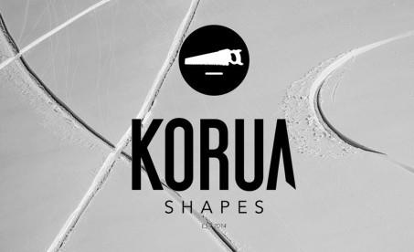 KORUA snowboard shapes | jedinečné snowboardy