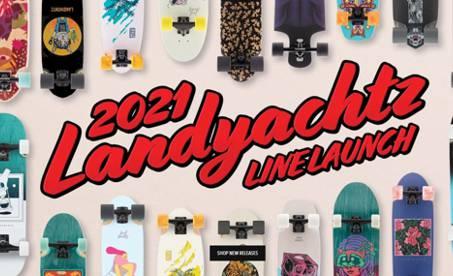 Longboardy kam se podíváš | Landyachtz 2021