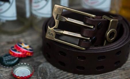 686 pánský kožený pásek Toolbelt | není pásek jako pásek